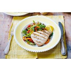 Phantasy Griddled Tuna Steaks Peperonata Griddled Tuna Steaks Recipe Tuna Recipes Tesco Real Food Baked Tuna Steak Recipe Oven Baked Frozen Tuna Steak Recipe