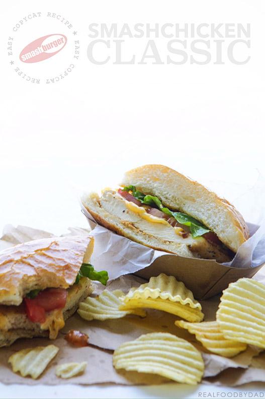 Copycat Smashburger Chicken Sandwich $7 Chicken Classic