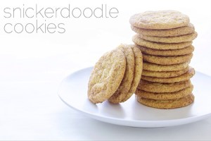 Snickerdoodle Cookies from Real Food by Dad