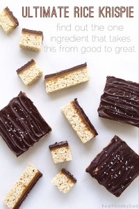 Ultimate Rice Krispie Treat by Real Food by Dad
