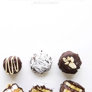 Chocolate Covered Banana Bites