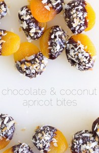 Chocolate-Dipped Apricots Real Food by Dad
