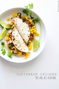Caribbean Chicken Tacos with Real Food by Dad copy