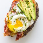 Power Breakfast Baked Potato from Real Food by Dad