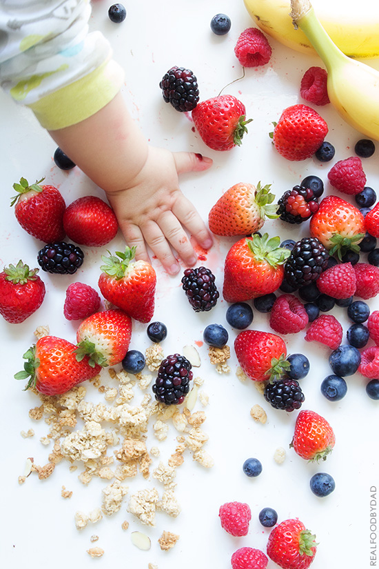 Mixed Berry Baby Bomb voa Real Food by Dad