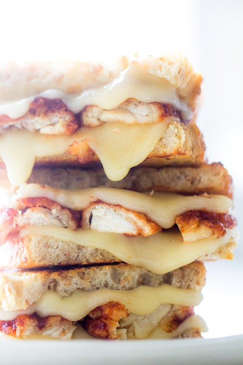 Buffalo Wing Melt via Real Food by Dad
