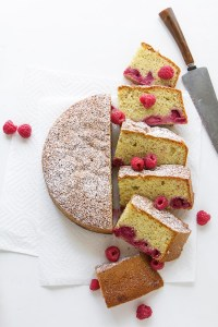 Raspberry and Almond Olive Oil Cake | Real Food by Dad