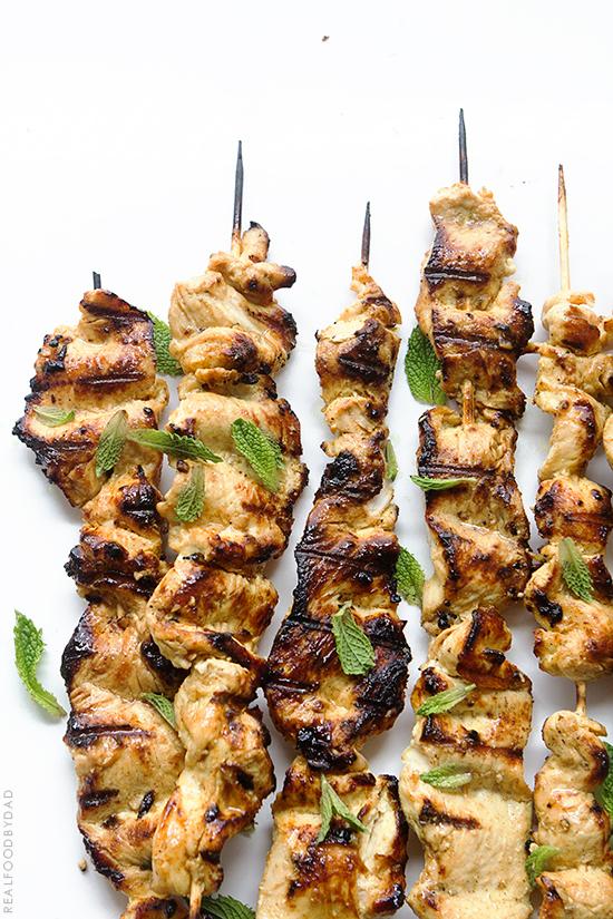 Chicken Satay via Real Food by Dad