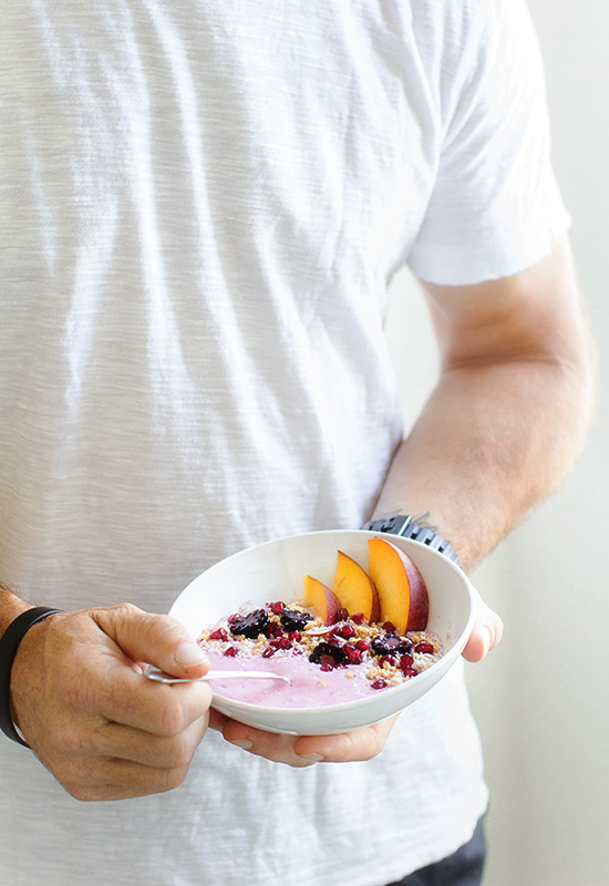 Summer Fruit Smoothie Bowl via Real Food by Dad