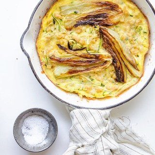 Chicken Frittata with Roasted Fennel and Zucchini