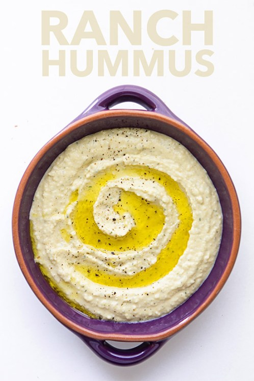 Ranch Hummus | Real Food by Dad