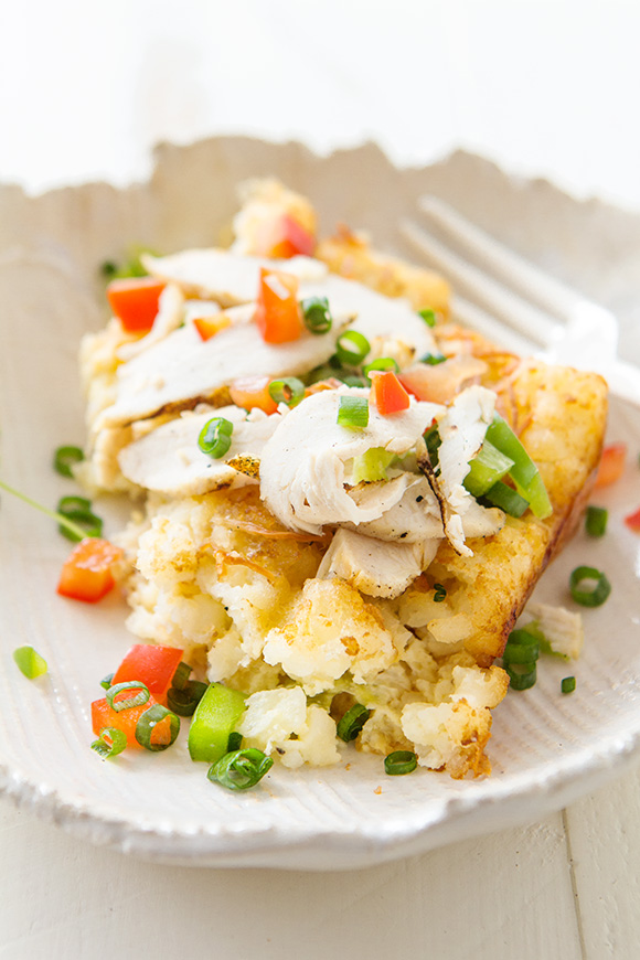 Chicken Fajita Tater Tot Breakfast Casserole _ Real Food by Dad
