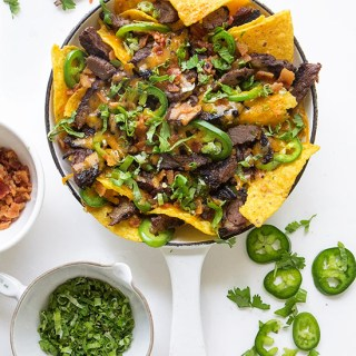 Texas Beef Nachos via Real Food by Dad