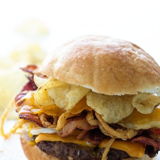 The Brunch Crunch Burger
