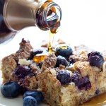 Blueberry Lemon French Toast Casserole   Real Food by Dad