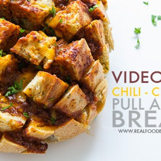 Chili Cheese Pull Apart Bread | Real Food by Dad