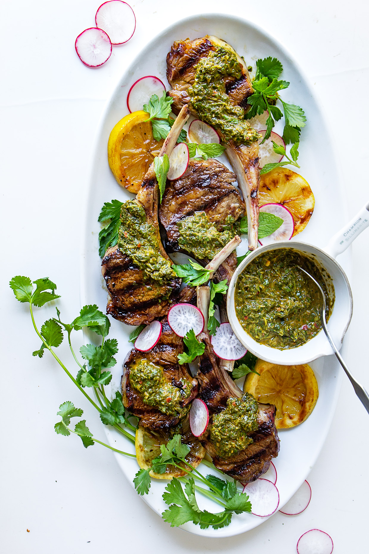 Grilled Lamb Chops via Real Food by Dad
