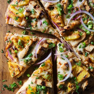 Hawaiian Grilled Chicken Pizza - Real Food by dad
