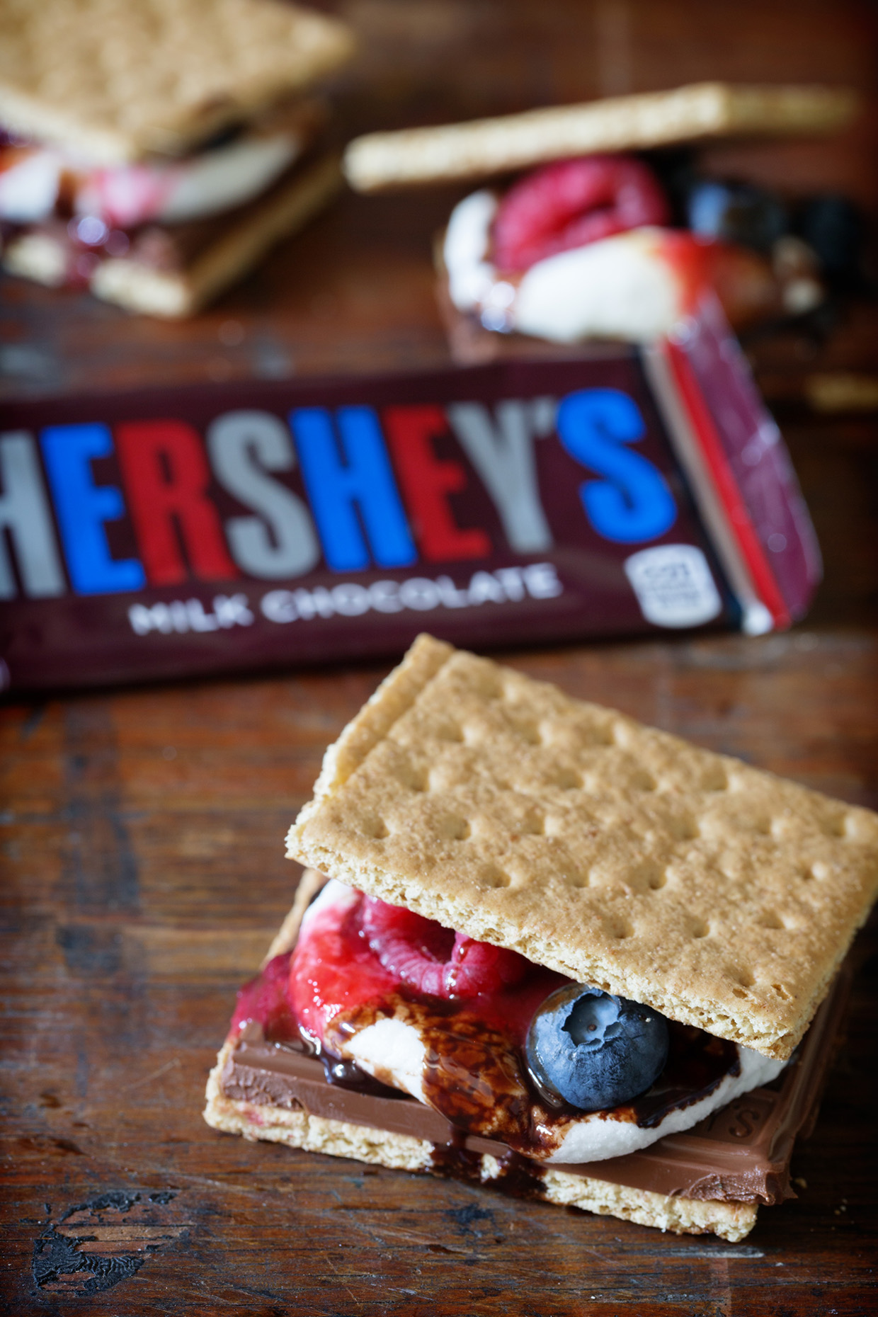 Fruit Filled S'mores | Real Food by Dad