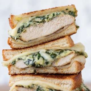 Spinach and Artichoke Grilled Chicken Melt | Real Food by Dad