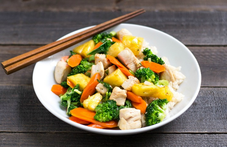 Chicken Pineapple Stir Fry