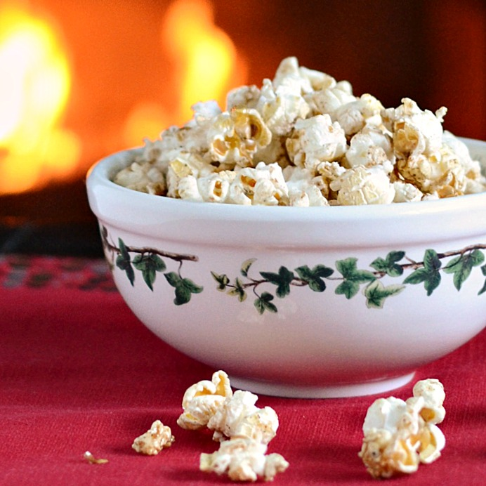 Maple Gingerbread Popcorn Recipe