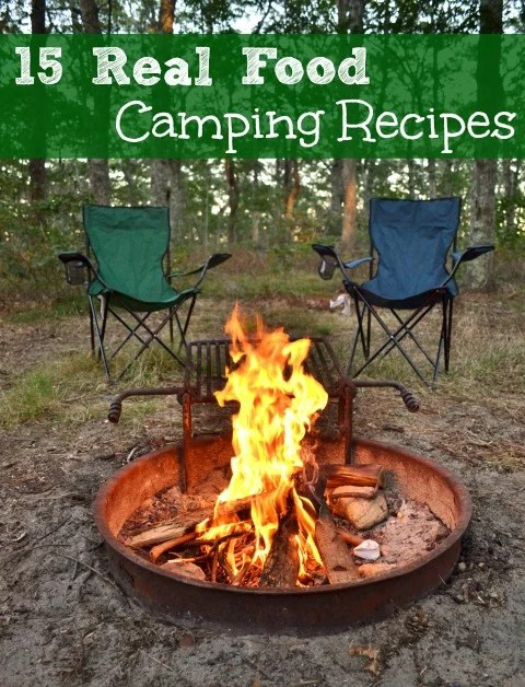 15 real food camping recipes real food real deals for Meal outdoors