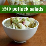 healthy potluck salads sq