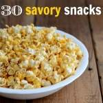 savory snack recipes 300
