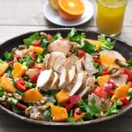 Grilled Chicken Salad Recipe #SundaySupper