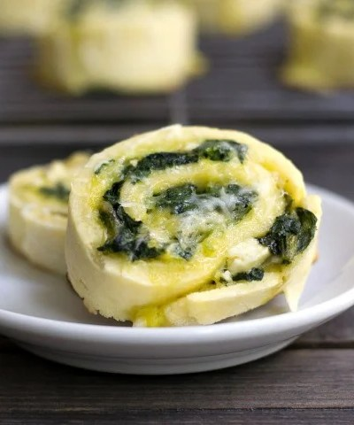 Spinach Feta Pinwheels