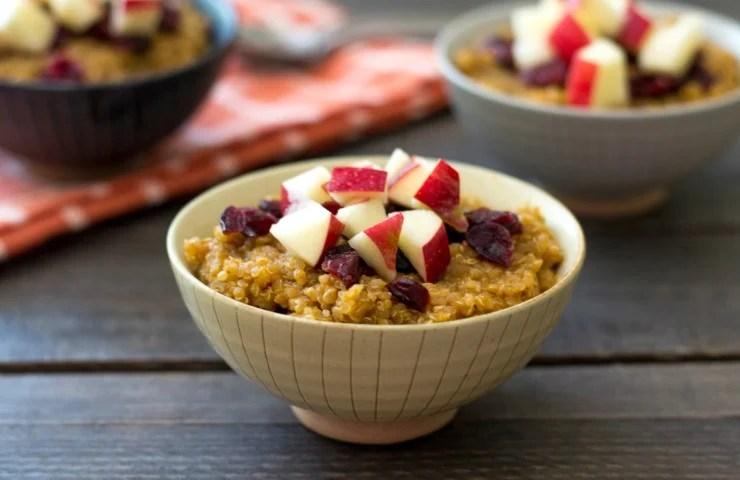 Fall Quinoa Breakfast Bowl