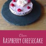Clean Raspberry Cheesecake, Raw, Vegan, Paleo , GAPS | Real Food Real Health UK