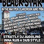 BLACK STAR IN MAY PEN CLARENDON JUNE 1986