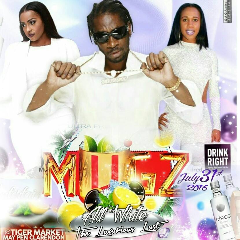 MUGZ ALL WHITE  IN MAY PEN CLARENDON AUGUST 1ST 2016