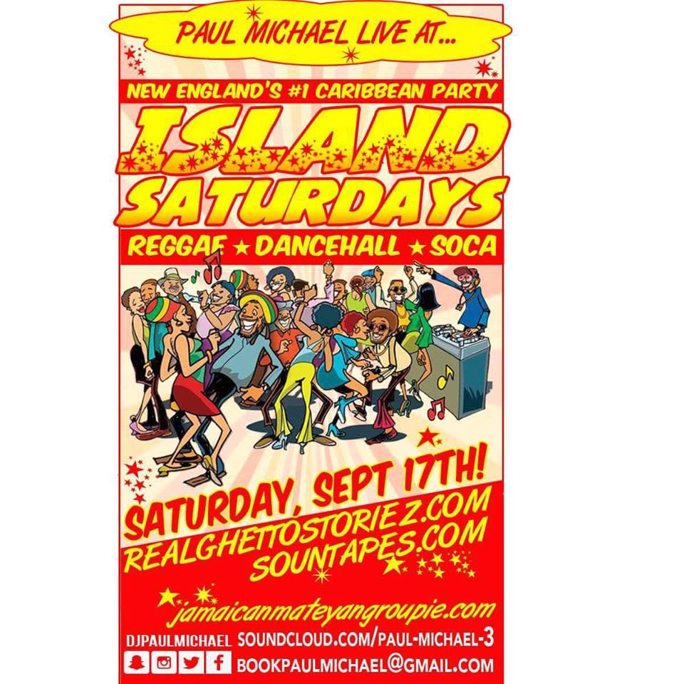 PAUL MICHAEL LIVE AT ISLAND SATURDAYS ON SEPT 17TH 2016