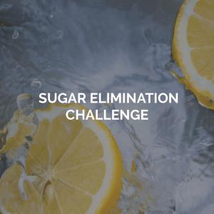Sugar Elimination Challenge image of lemons in water