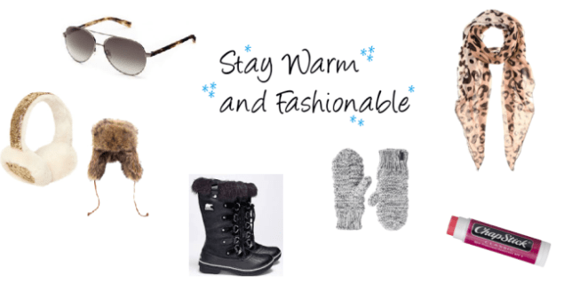 warm winter fashion accessories
