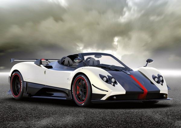 8. Pagani Zonda Cinque Roadster
