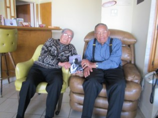 Leon T. Garr and 96 Year Old Friend Ranza Devereaux