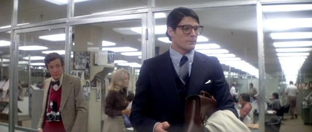 Jimmy Olsen and Clark Kent