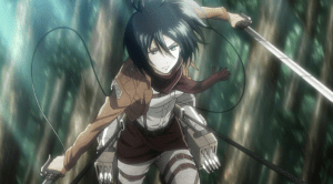 Mikasa in Action