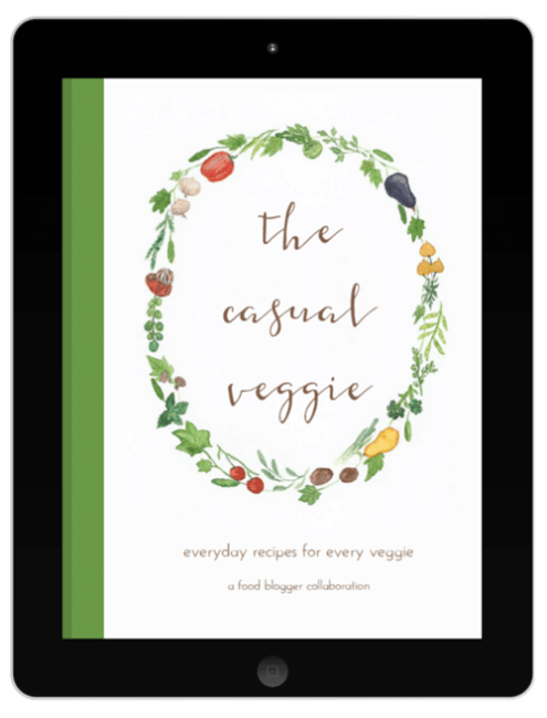 Casual veggie ebook