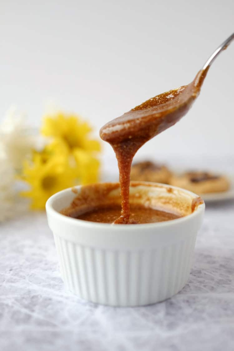 Try out our salted caramel sauce, and let us know how you like it by ...