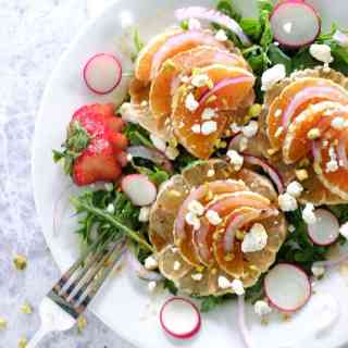 Summer citrus salad
