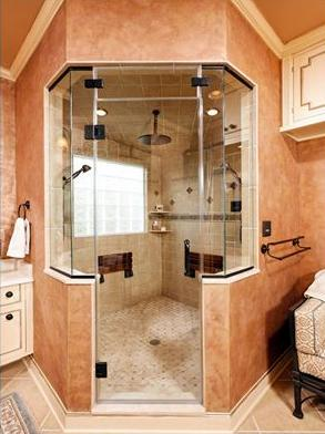 Would you like to have a steam shower?
