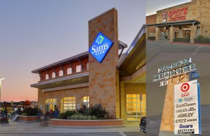 Southpark Meadows III in Austin is shadow-anchored by Sam's Club.