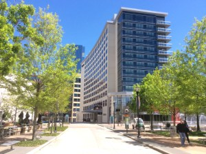 A 302-room Westin hotel has opened in The Woodlands. Photo credit: Ralph Bivins copyright 2016.