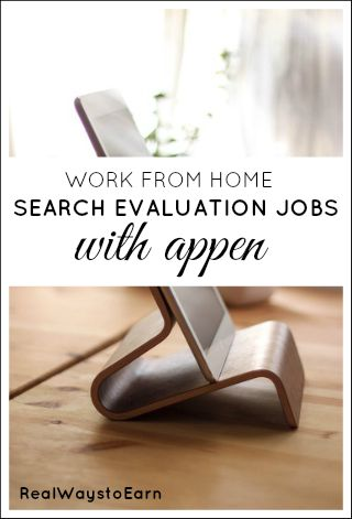 Appen is a company regularly hiring work at home search engine evaluators. The pay is good, but you do have to take a test in order to get accepted.