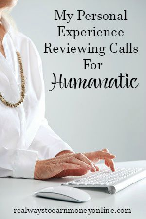 My personal experience working at home as a call reviewer for Humanatic.
